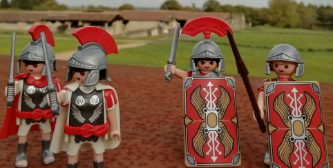 "Exposition Playmobil ""la vie antique"" 